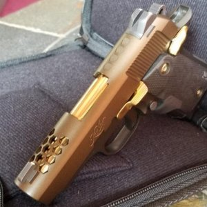 Micro9 Burnt Bronze Creakote